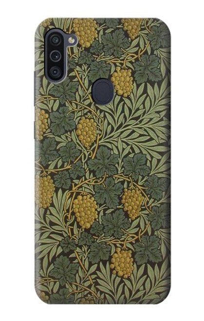 S3662 William Morris Vine Pattern Case For Samsung Galaxy M11