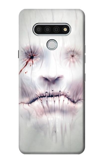 S0884 Horror Face Case For LG Stylo 6
