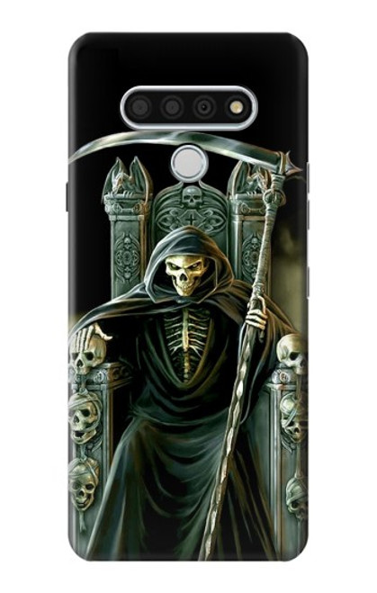 S1024 Grim Reaper Skeleton King Case For LG Stylo 6