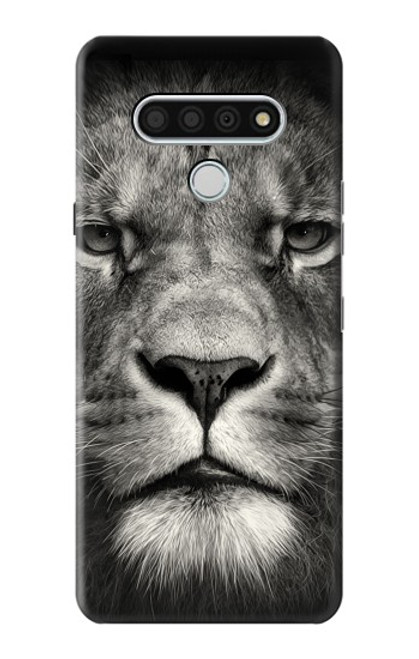 S1352 Lion Face Case For LG Stylo 6