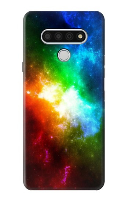 S2312 Colorful Rainbow Space Galaxy Case For LG Stylo 6