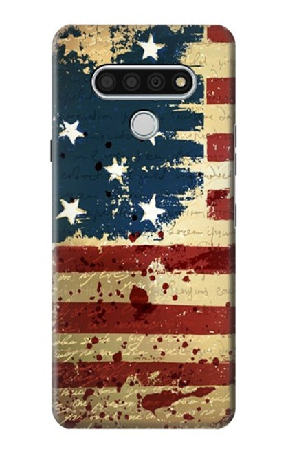 S2349 Old American Flag Case For LG Stylo 6