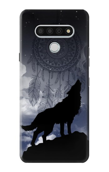 S3011 Dream Catcher Wolf Howling Case For LG Stylo 6