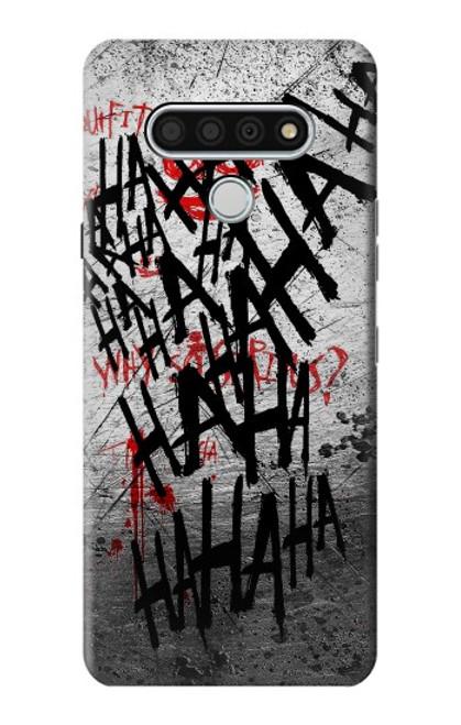 S3073 Joker Hahaha Blood Splash Case For LG Stylo 6
