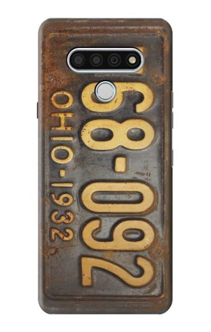 S3228 Vintage Car License Plate Case For LG Stylo 6