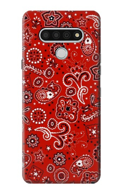 S3354 Red Classic Bandana Case For LG Stylo 6
