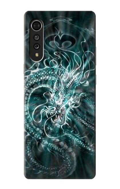 S1006 Digital Chinese Dragon Case For LG Velvet