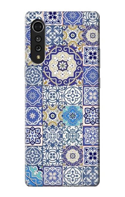 S3537 Moroccan Mosaic Pattern Case For LG Velvet
