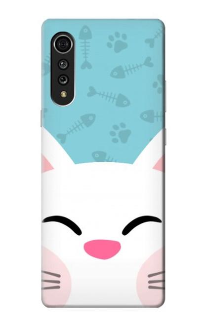 S3542 Cute Cat Cartoon Case For LG Velvet