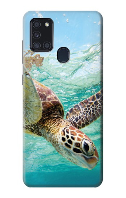 S1377 Ocean Sea Turtle Case For Samsung Galaxy A21s