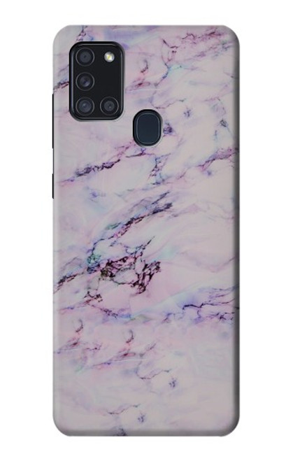 S3215 Seamless Pink Marble Case For Samsung Galaxy A21s