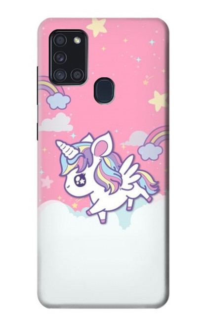 S3518 Unicorn Cartoon Case For Samsung Galaxy A21s