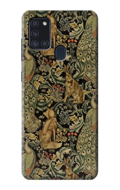 S3661 William Morris Forest Velvet Case For Samsung Galaxy A21s