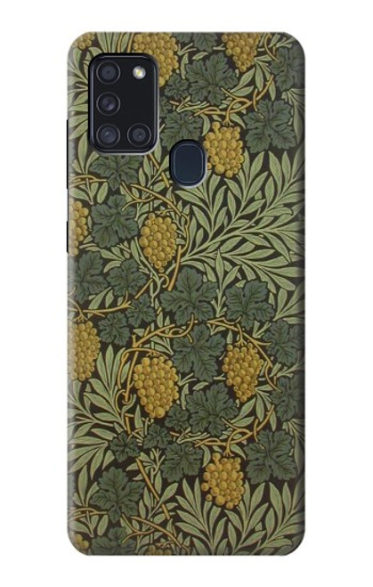 S3662 William Morris Vine Pattern Case For Samsung Galaxy A21s