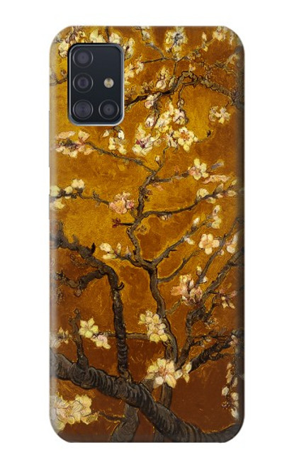 S2663 Yellow Blossoming Almond Tree Van Gogh Case For Samsung Galaxy A51 5G