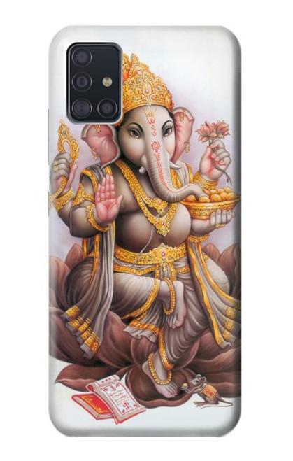 S2820 Hindu God Ganesha Ganapati Vinayaka Case For Samsung Galaxy A51 5G