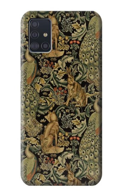 S3661 William Morris Forest Velvet Case For Samsung Galaxy A51 5G