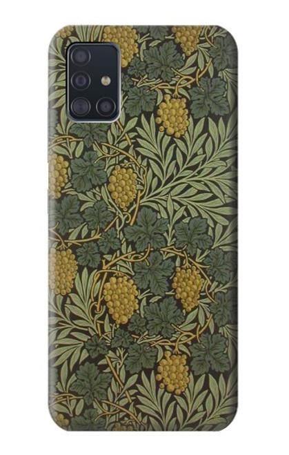 S3662 William Morris Vine Pattern Case For Samsung Galaxy A51 5G