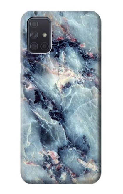 S2689 Blue Marble Texture Graphic Printed Case For Samsung Galaxy A71 5G