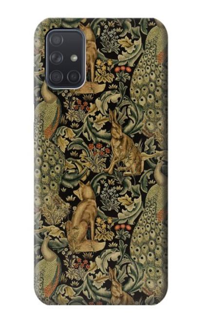 S3661 William Morris Forest Velvet Case For Samsung Galaxy A71 5G