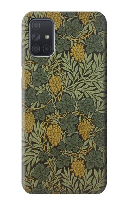 S3662 William Morris Vine Pattern Case For Samsung Galaxy A71 5G