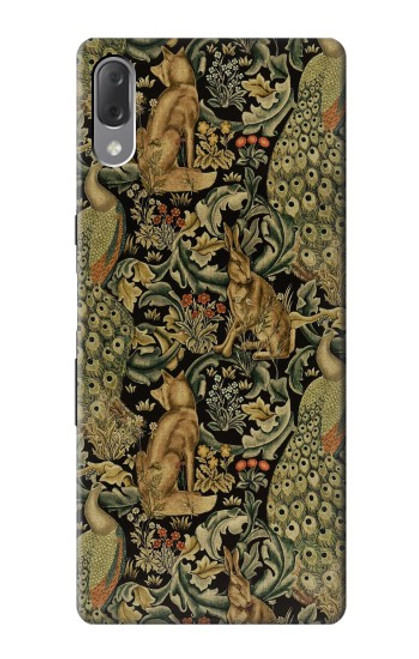S3661 William Morris Forest Velvet Case For Sony Xperia L3