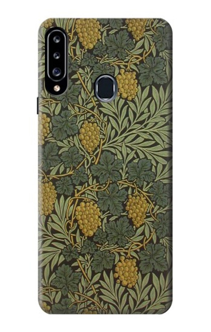 S3662 William Morris Vine Pattern Case For Samsung Galaxy A20s