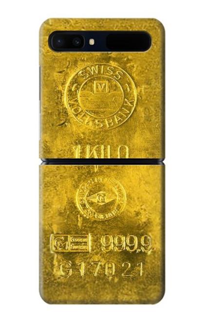 S2618 One Kilo Gold Bar Case For Samsung Galaxy Z Flip 5G