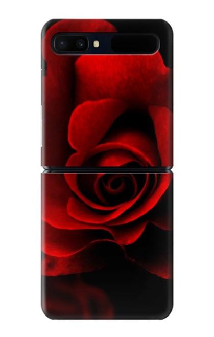 S2898 Red Rose Case For Samsung Galaxy Z Flip 5G