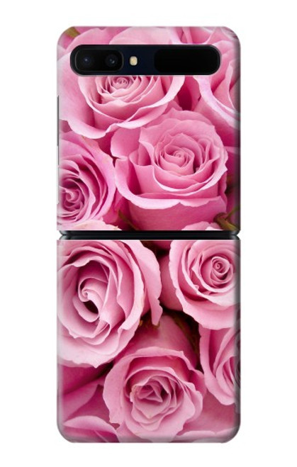 S2943 Pink Rose Case For Samsung Galaxy Z Flip 5G