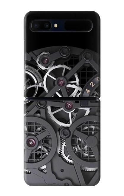 S3176 Inside Watch Black Case For Samsung Galaxy Z Flip 5G