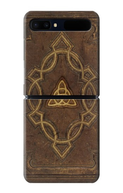 S3219 Spell Book Cover Case For Samsung Galaxy Z Flip 5G