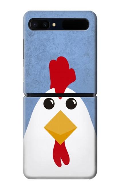 S3254 Chicken Cartoon Case For Samsung Galaxy Z Flip 5G