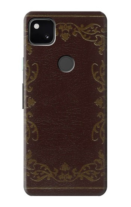 S3553 Vintage Book Cover Case For Google Pixel 4a