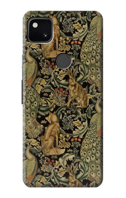 S3661 William Morris Forest Velvet Case For Google Pixel 4a
