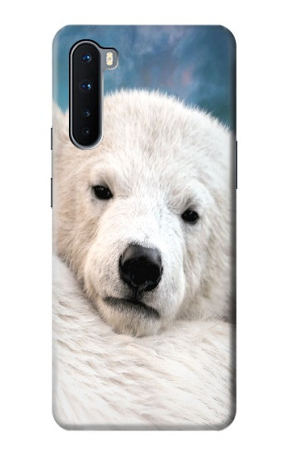 S0284 Polar Bear Case For OnePlus Nord