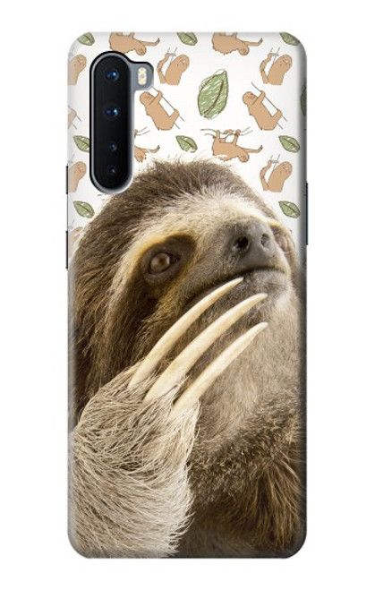 S3559 Sloth Pattern Case For OnePlus Nord