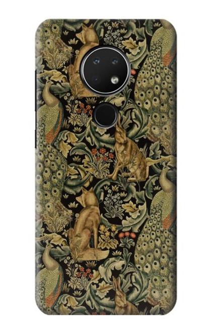 S3661 William Morris Forest Velvet Case For Nokia 6.2