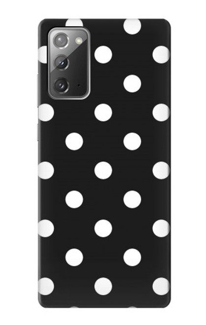 S2299 Black Polka Dots Case For Samsung Galaxy Note 20