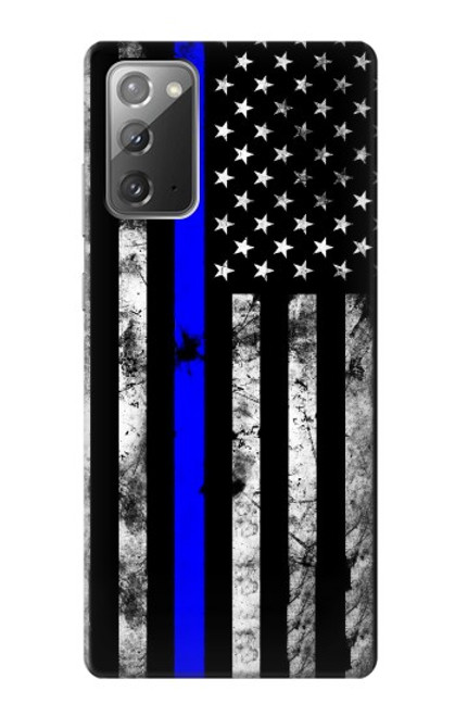 S3244 Thin Blue Line USA Case For Samsung Galaxy Note 20