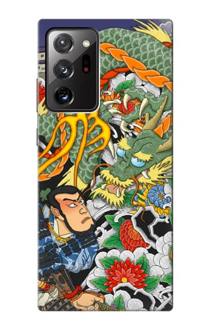 S0454 Japan Tattoo Case For Samsung Galaxy Note 20 Ultra, Ultra 5G
