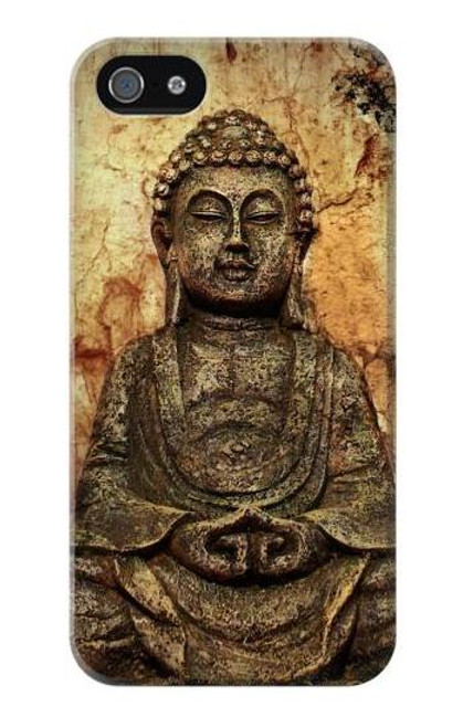 S0344 Buddha Rock Carving Case Cover For IPHONE 5 5s SE