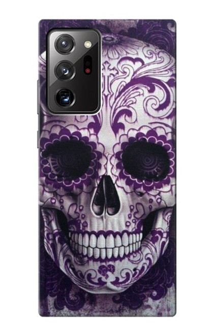S3582 Purple Sugar Skull Case For Samsung Galaxy Note 20 Ultra, Ultra 5G