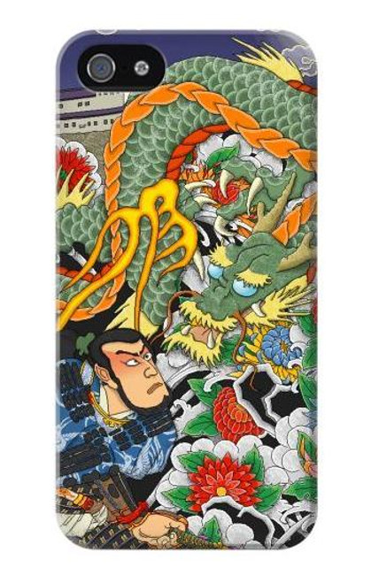 S0454 Japan Tattoo Case Cover For IPHONE 5 5s SE
