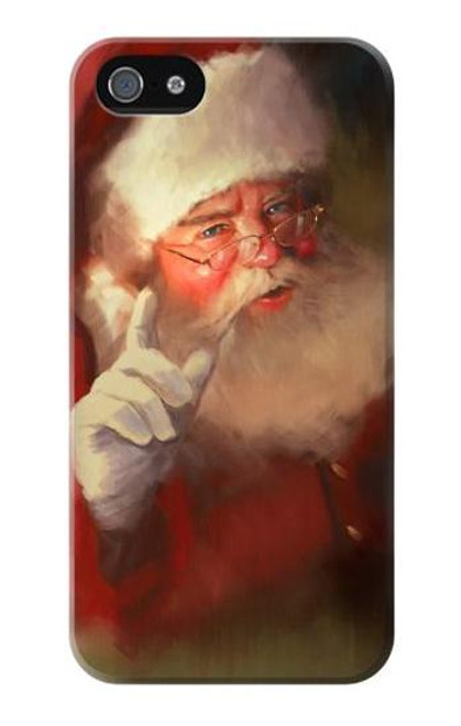 S1144 Xmas Santa Claus Case Cover For IPHONE 5 5s SE