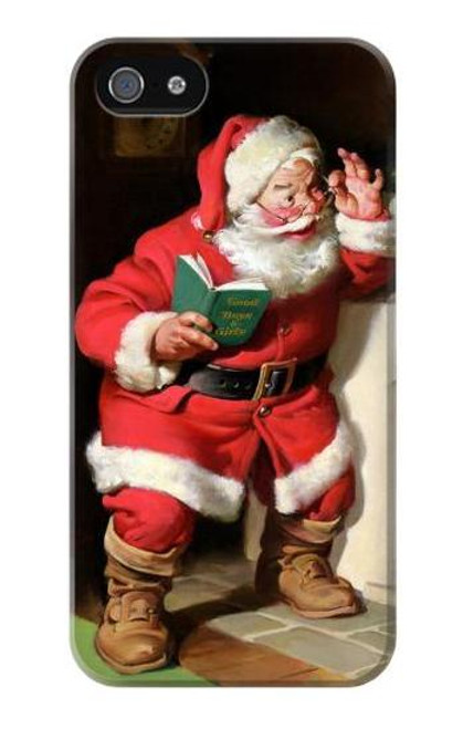 S1417 Santa Claus Merry Xmas Case Cover For IPHONE 5 5s SE