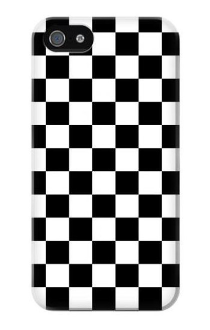 S1611 Checkerboard Chess Board Case Cover For IPHONE 5 5s SE