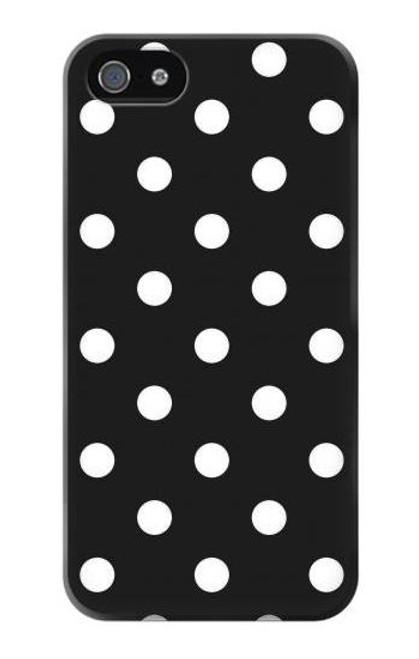 S2299 Black Polka Dots Case For IPHONE 5 5s SE