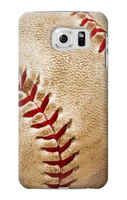 S0064 Baseball Case For Samsung Galaxy S6 Edge