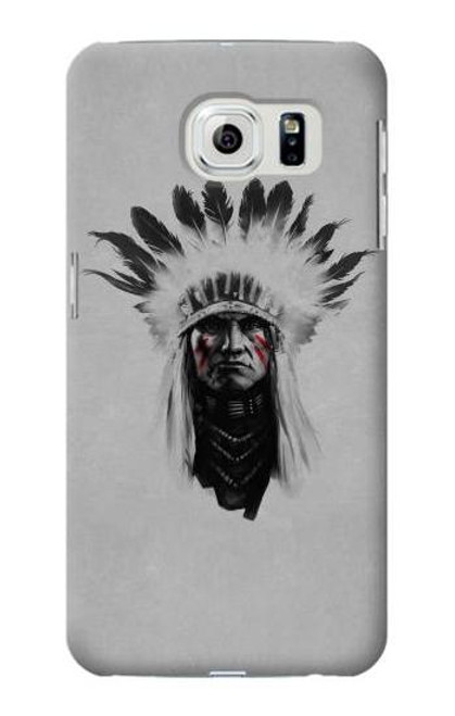 S0451 Indian Chief Case For Samsung Galaxy S6 Edge